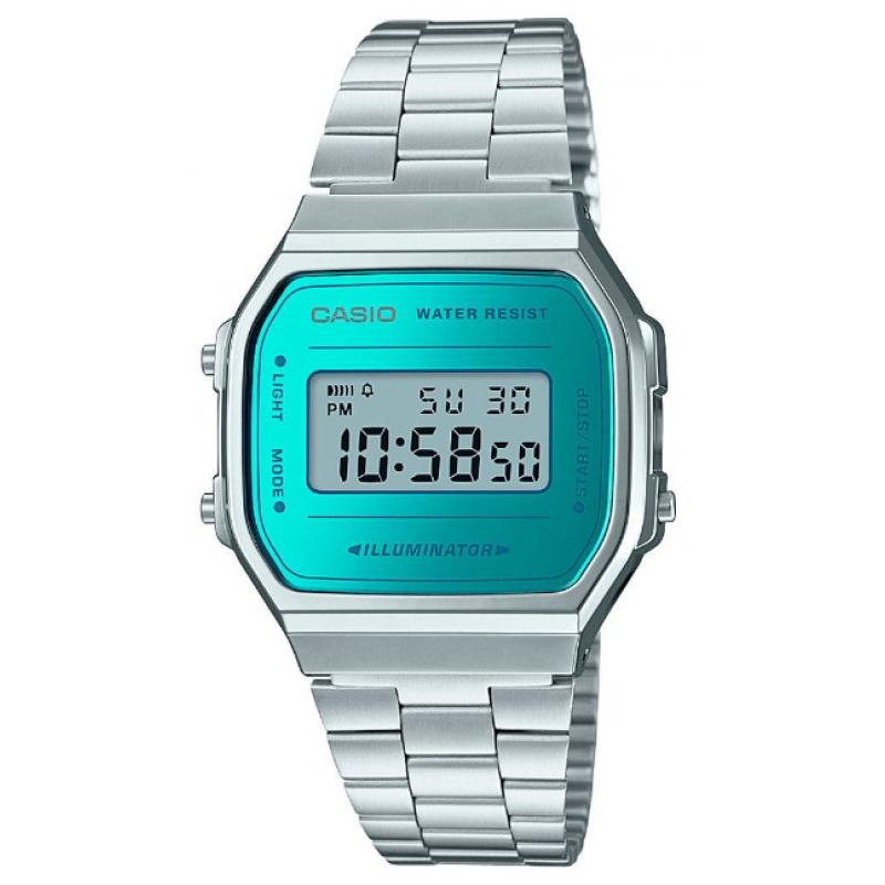 Unisex hodinky CASIO Collection Retro A-168WEM-2  b499c2eb63
