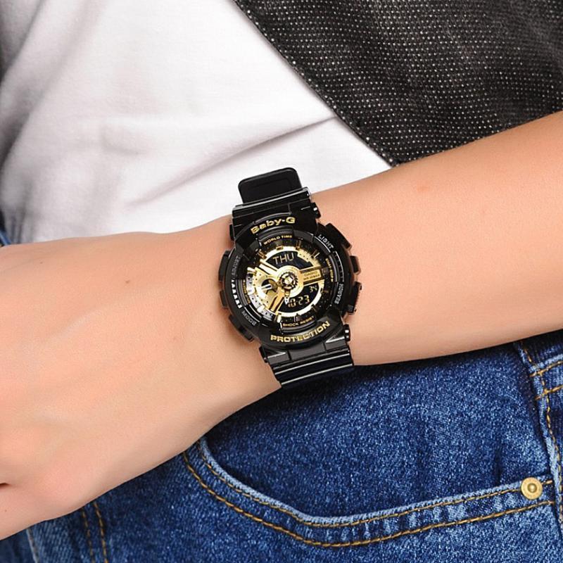 ... Dámské hodinky CASIO Baby-G BA-110-1A ... 61346a0e44