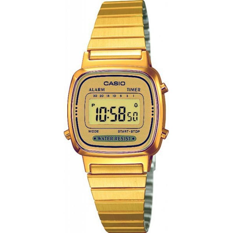 48de090da13 3D náhled Dámské hodinky CASIO Collection Retro LA-670GA-9