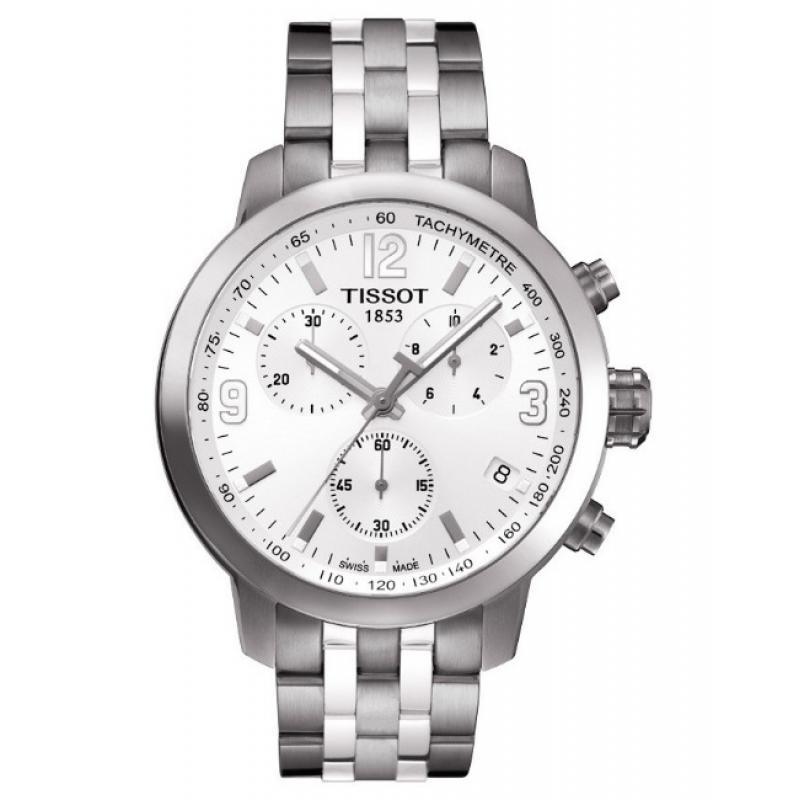 3D náhled Pánské hodinky TISSOT PRC 200 Chrono T055.417.11.017.00 f6e3305769