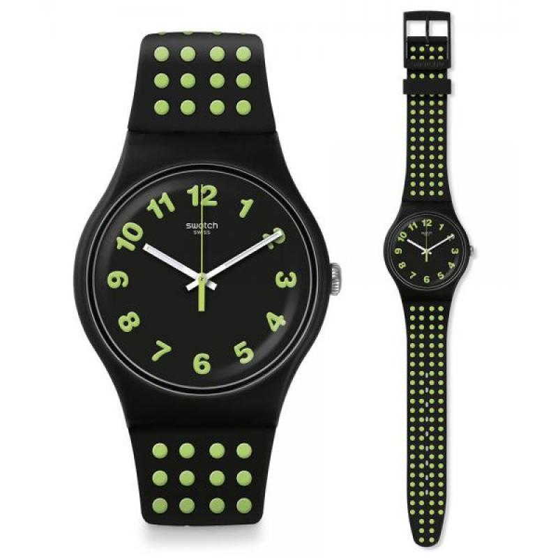 ... Hodinky SWATCH Punti Gialli SUOB147 0193d68539a