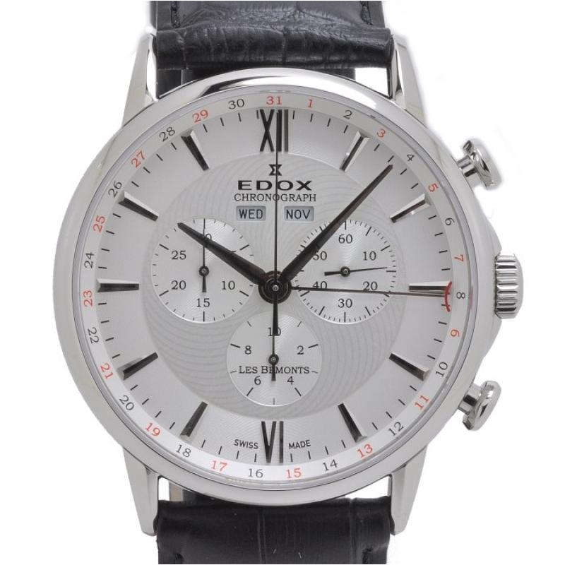 Pánské hodinky EDOX Les Bémonts Chronograph 10501 3 AIN ... 336cae079f2