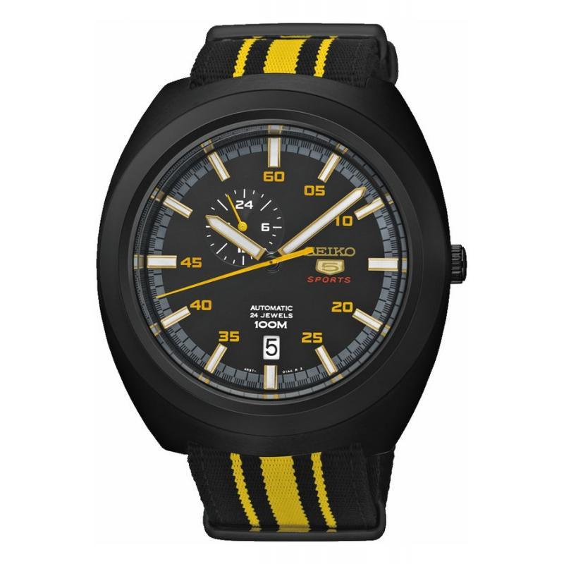3D náhled Pánské hodinky SEIKO Sports Automatic SSA289K1 9a757f86b4
