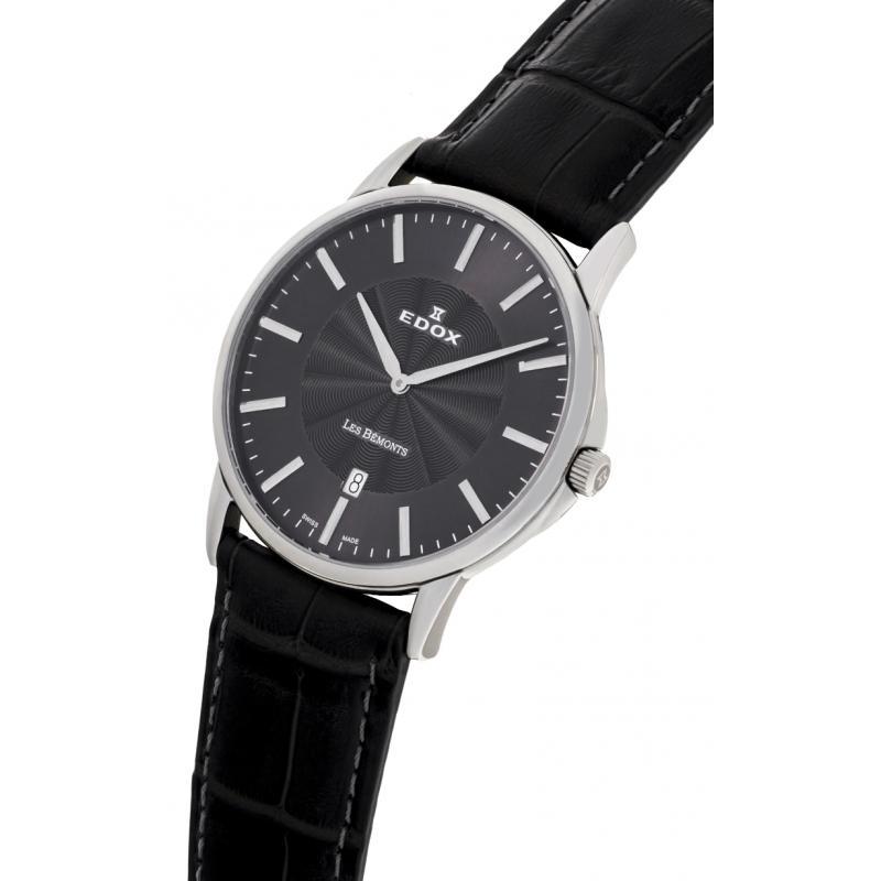 Pánské hodinky EDOX Les Bémonts 56001 3 GIN ... 5d5c37249f6