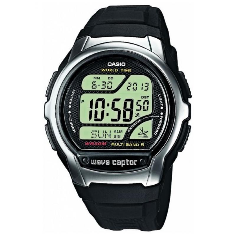 3D náhled Pánské hodinky CASIO Wave Ceptor WV-58-1A 4b3a178924