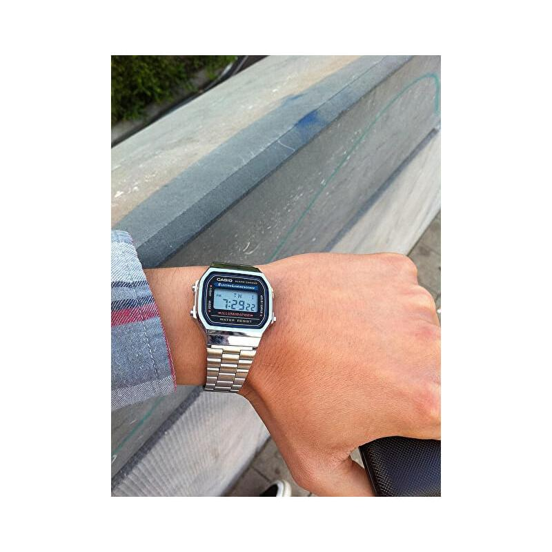 6048ff4d130 Unisex hodinky CASIO Collection Retro A-168WEM-7