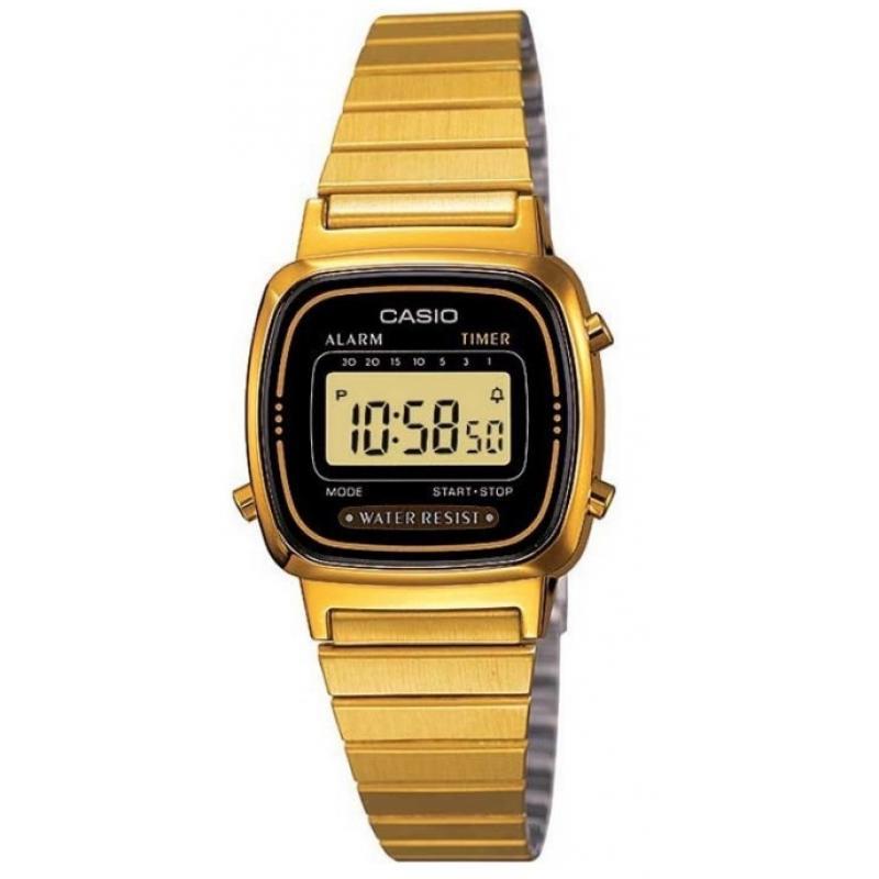 6ac2e2d6e35 3D náhled Dámské hodinky CASIO Collection Retro LA-670WEGD-1