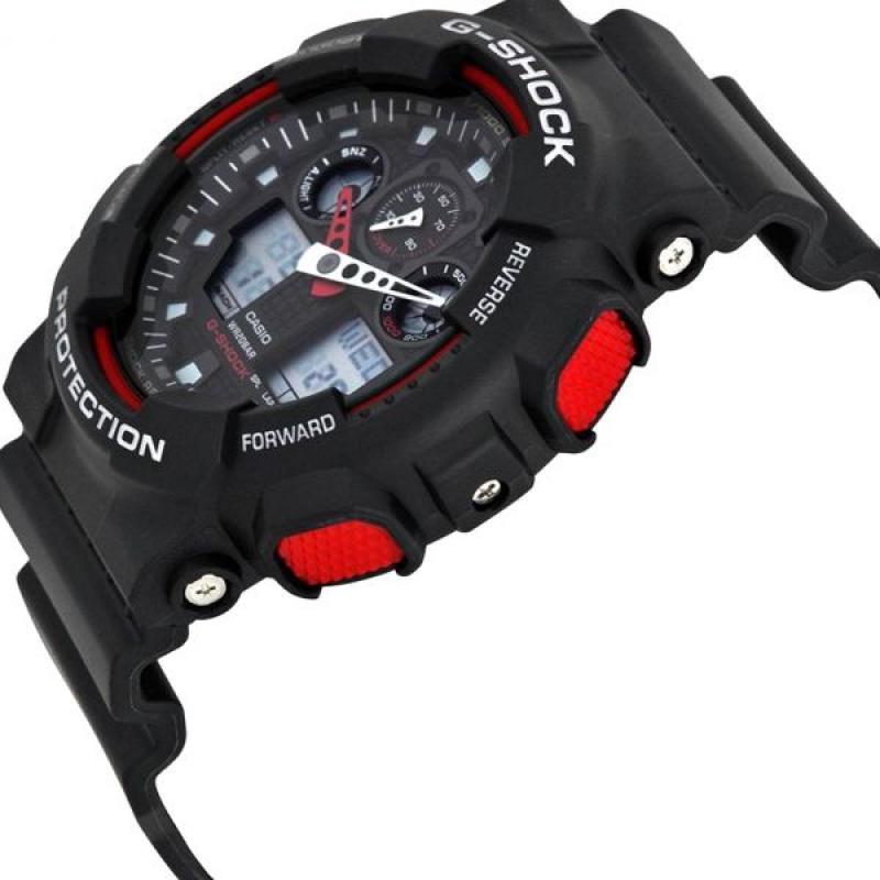 9def5893494 ... Pánské hodinky CASIO G-SHOCK GA-100-1A4 ...