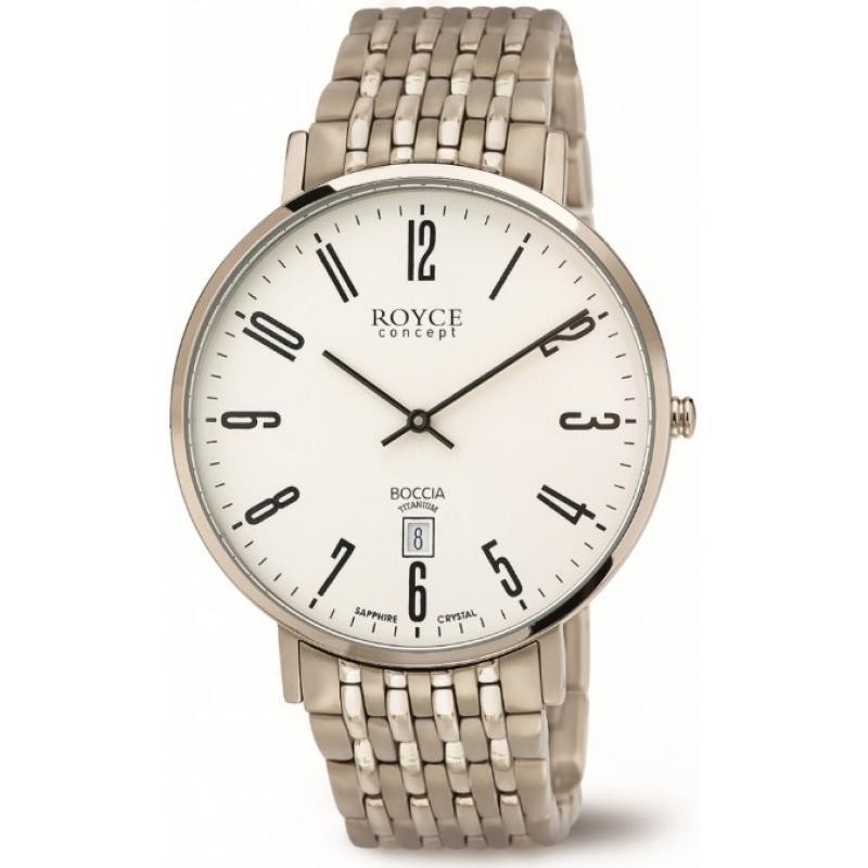 3D náhled Pánské hodinky BOCCIA TITANIUM 3605-02 84c7eece29
