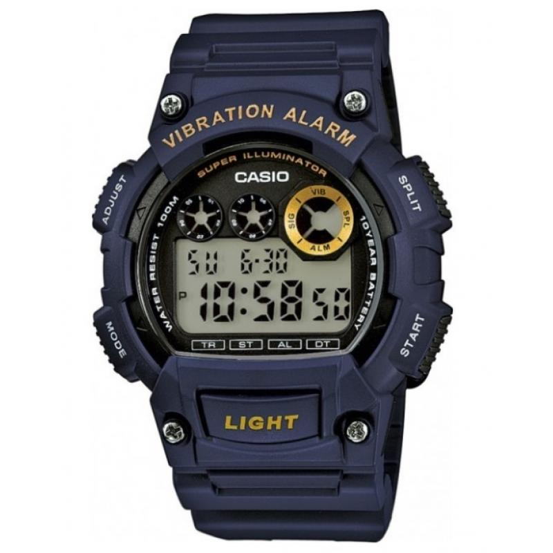 3D náhled Pánské hodinky CASIO W-735H-2A b8b641dec1