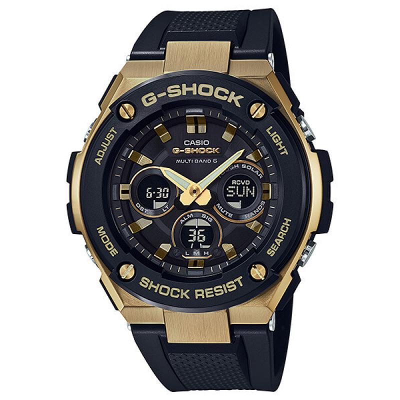 3D náhled Pánské hodinky CASIO G-SHOCK G-Steel GST-W300G-1A9 695d608cb4