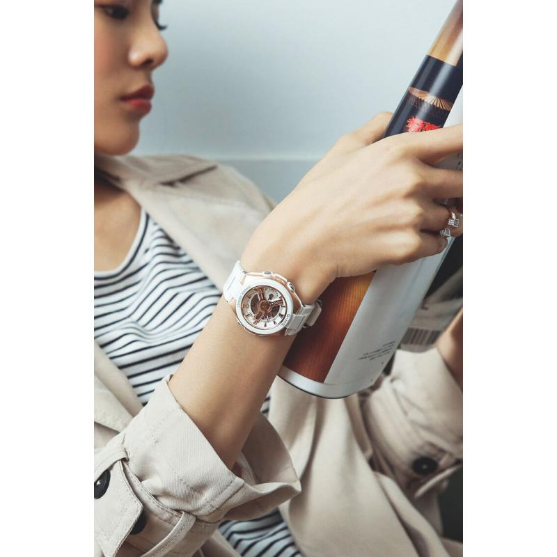 ... Dámské hodinky CASIO Baby-G MSG-400G-7A ... d1b765652a0