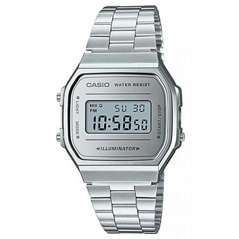 5c72a372915 3D náhled Unisex hodinky CASIO Collection Retro A-168WEM-7