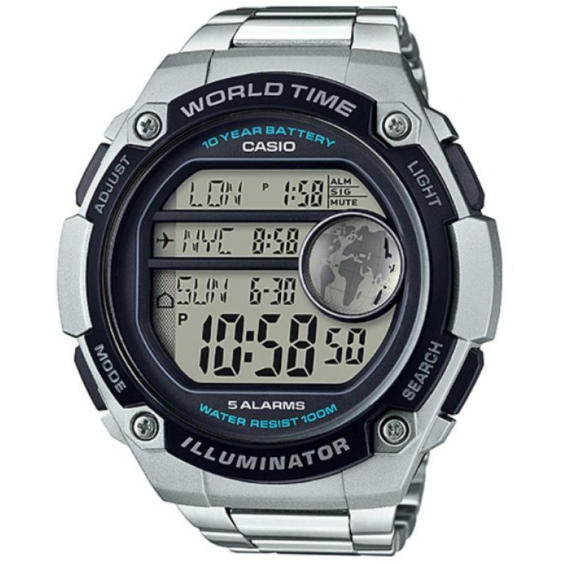 3D náhled Pánské hodinky CASIO AE-3000WD-1A 3bceca713a