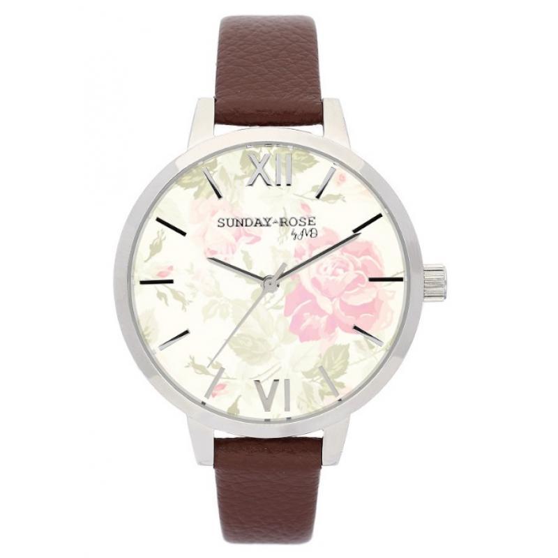 Dámské hodinky JVD Sunday Rose Vintage SUN-A01  a709ef5a3c