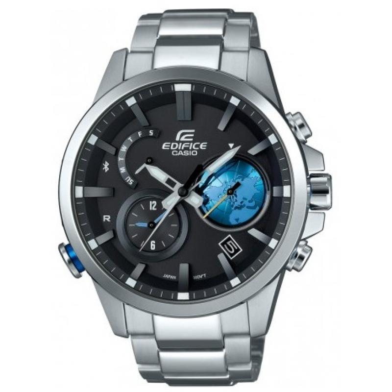 3D náhled Pánské hodinky CASIO Edifice Tough Solar Bluetooth EQB-600D-1A2 0ca296a06f