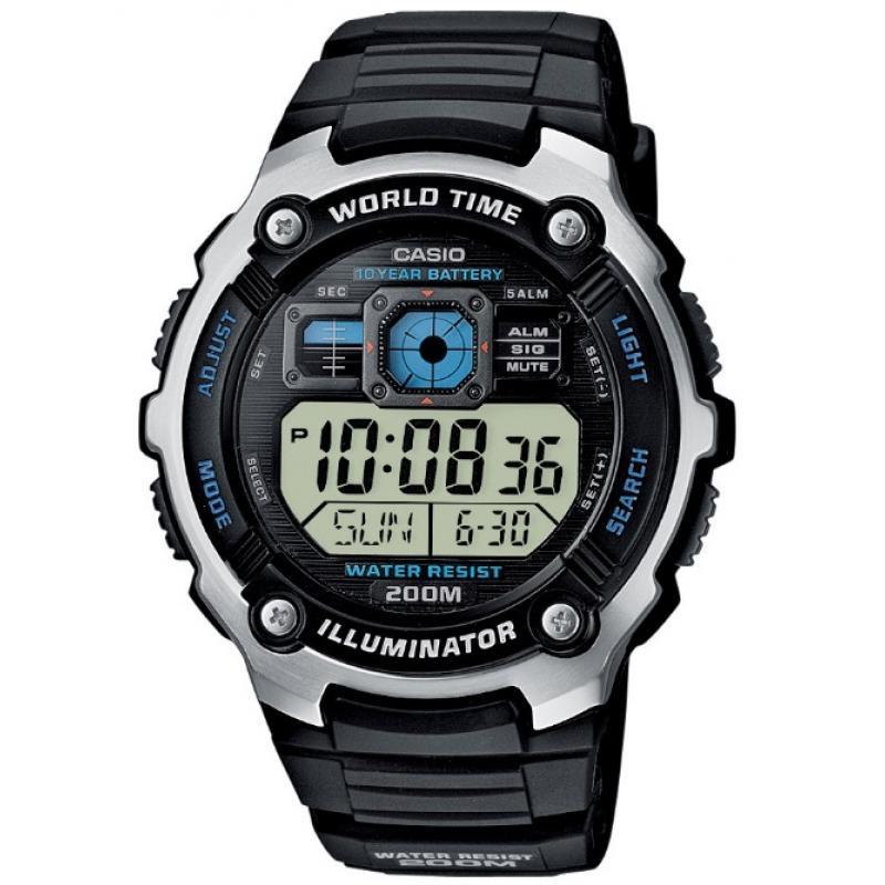 3D náhled Pánské hodinky CASIO AE-2000W-1A 428574533a