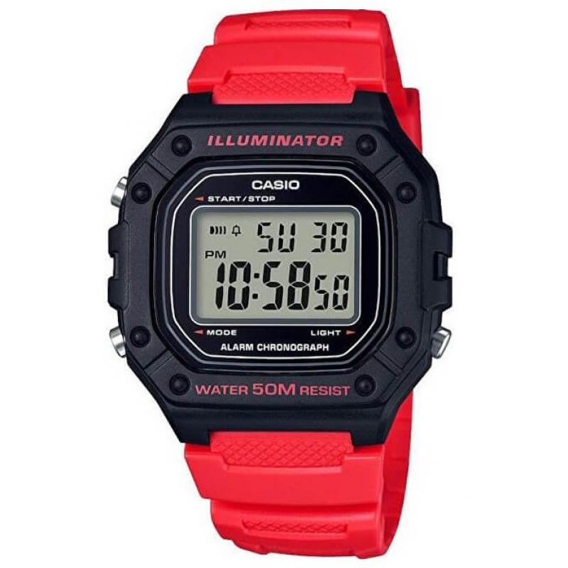 3D náhled Pánské hodinky CASIO Collection W-218H-4B dfd61d42c6