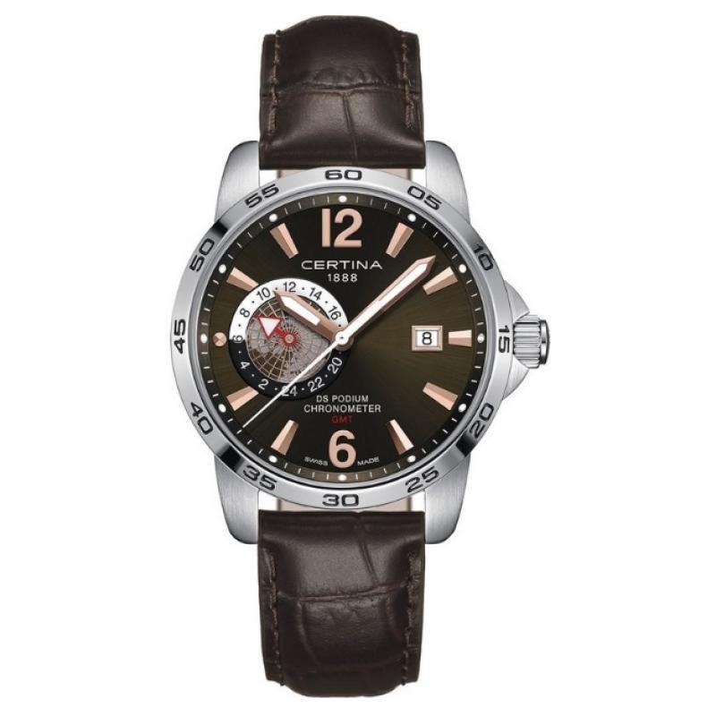 f2b26b045bd 3D náhled Pánské hodinky CERTINA DS Podium Chronometer GMT  C034.455.16.087.01