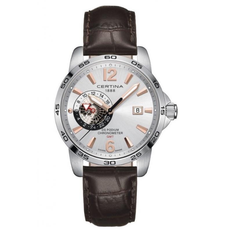 02261195420 3D náhled Pánské hodinky CERTINA DS Podium Chronometer GMT  C034.455.16.037.01