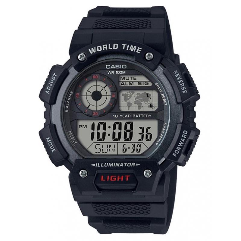 3D náhled Pánské hodinky CASIO AE-1400WH-1A 956a50f2e5