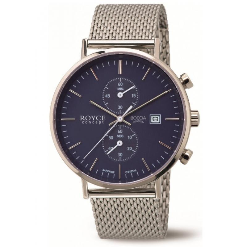 3D náhled Pánské hodinky BOCCIA TITANIUM 3752-05 32aa0b401e