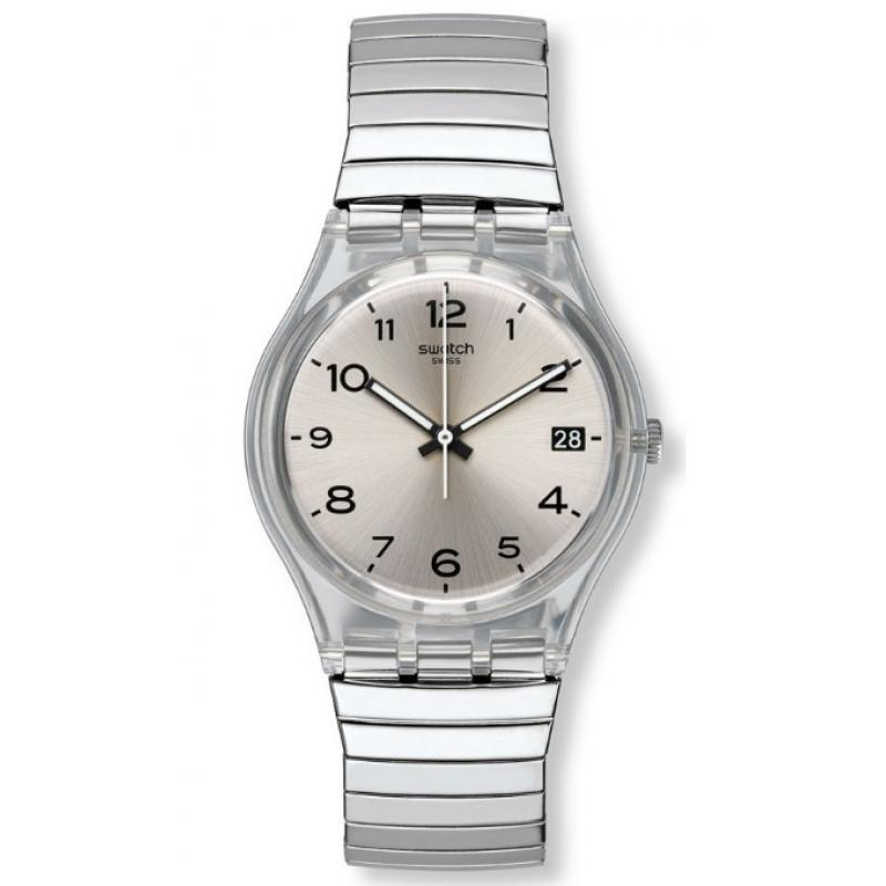 40fa92f0692 3D náhled Hodinky SWATCH Silverall GM416A