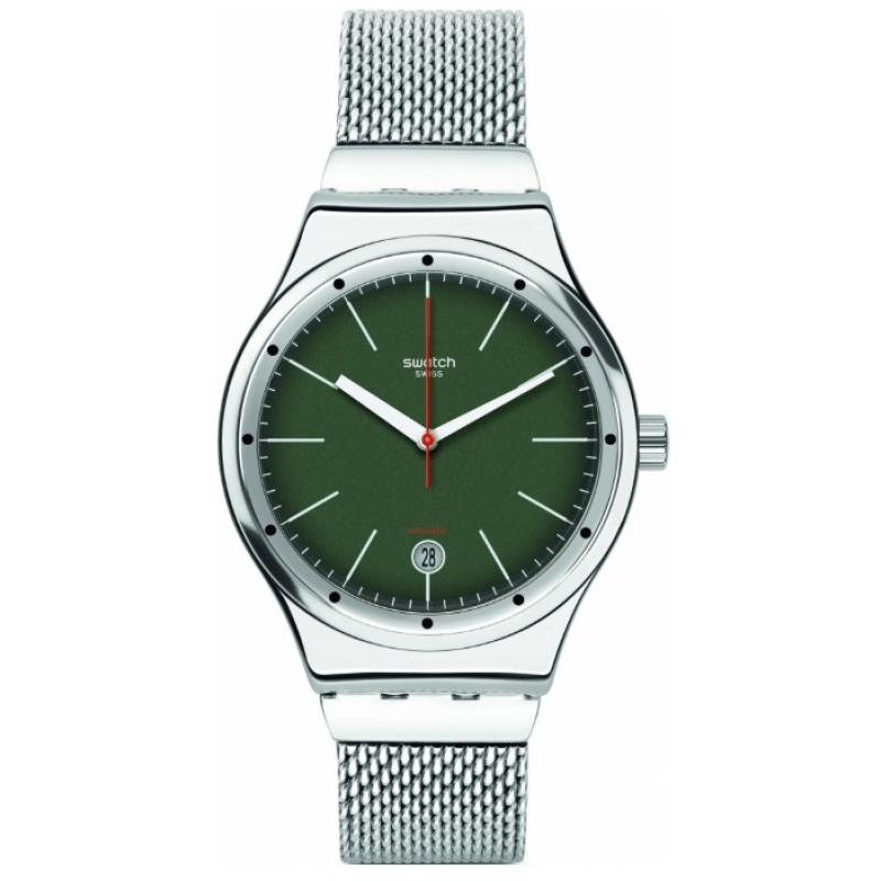 4490a89a059 3D náhled Pánské hodinky SWATCH Sistem Kaki YIS407GA