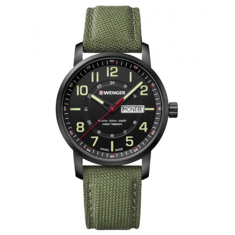 3D náhled Pánské hodinky WENGER Attitude 01.1541.104 a0f68c015a