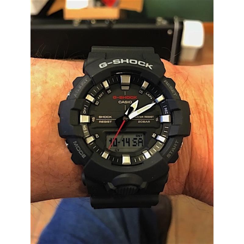 ... Pánské hodinky CASIO G-SHOCK GA-800-1A ... 4fded7c8dd3