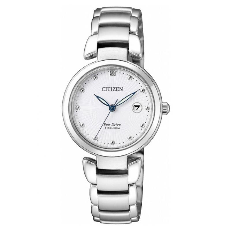 3D náhled Dámské hodinky CITIZEN Super Titanium Eco-Drive EW2500-88A e2b6ddf61d2