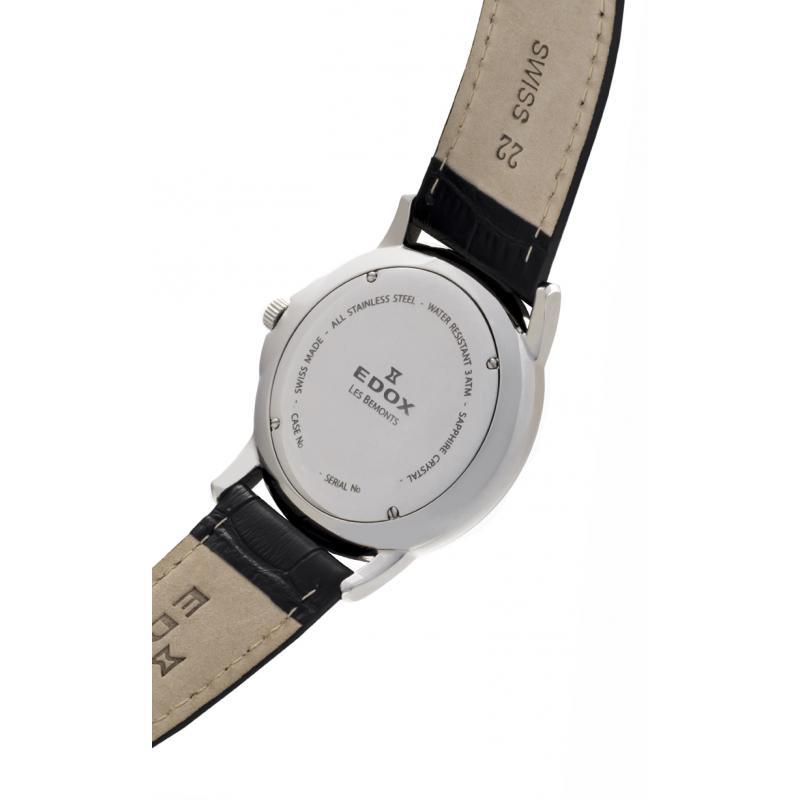 ... Pánské hodinky EDOX Les Bémonts 56001 3 GIN ... 54cbbd4b5aa