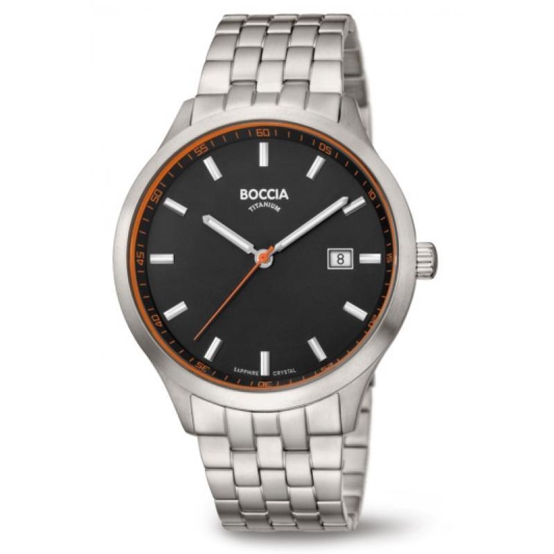 Pánské hodinky BOCCIA TITANIUM 3614-03  c81b392e3a
