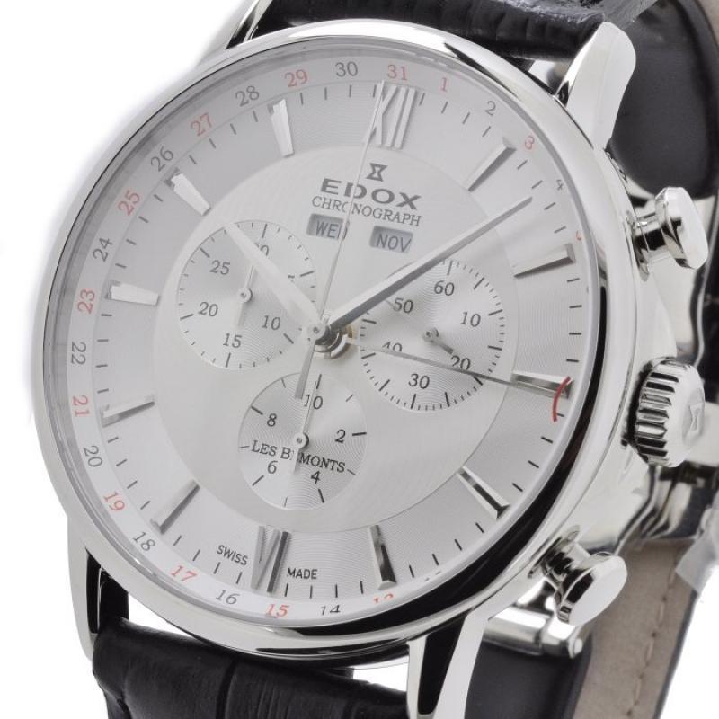 ... Pánské hodinky EDOX Les Bémonts Chronograph 10501 3 AIN ... ef478665b7c