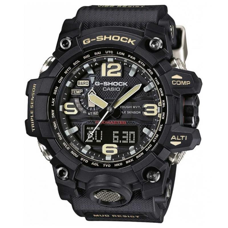 Pánské hodinky CASIO G-SHOCK Mudmaster GWG-1000-1A  47efac5658e