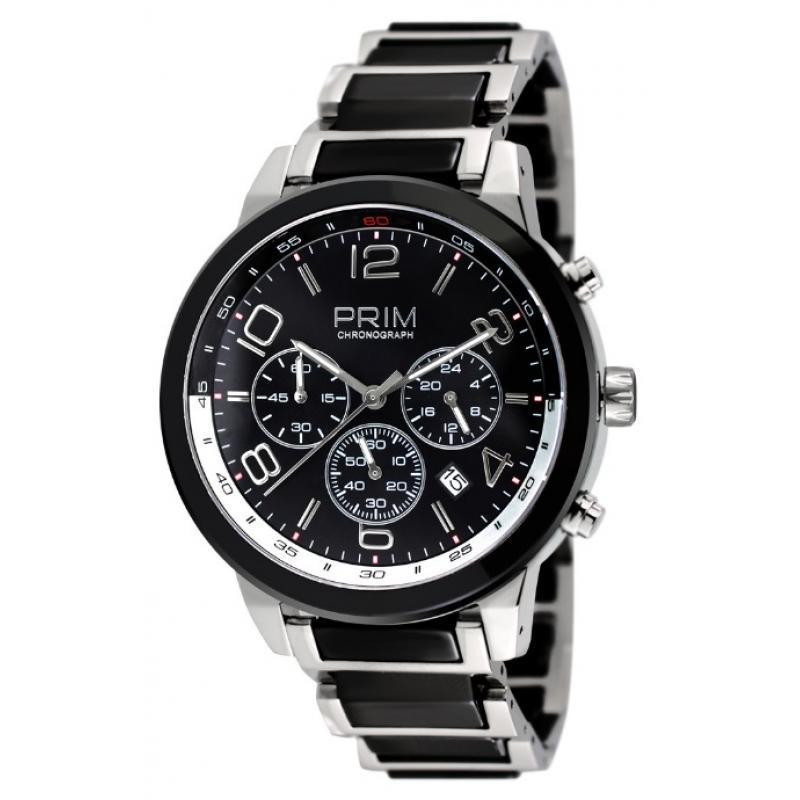 Pánské hodinky PRIM Ceramic Chrono W01P.13019.A  05c45d0f907