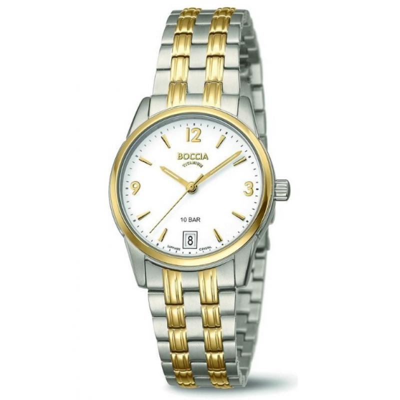 3D náhled Dámské hodinky BOCCIA TITANIUM 3272-02 f0767bcb9e