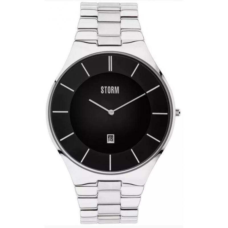 2cd36e47364 3D náhled Pánské hodinky STORM Slim-X3 Black 47304 BK