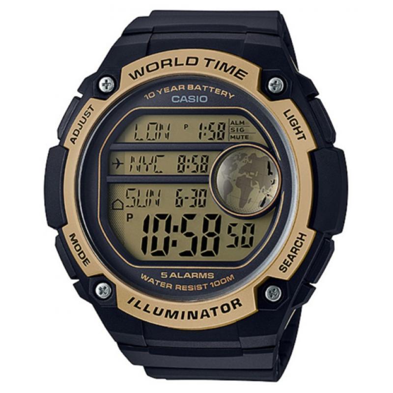 3D náhled Pánské hodinky CASIO AE-3000W-9A 0d2222b877