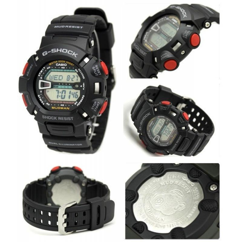 eadaae3741f ... Pánské hodinky CASIO G-SHOCK Mudman G-9000-1 ...