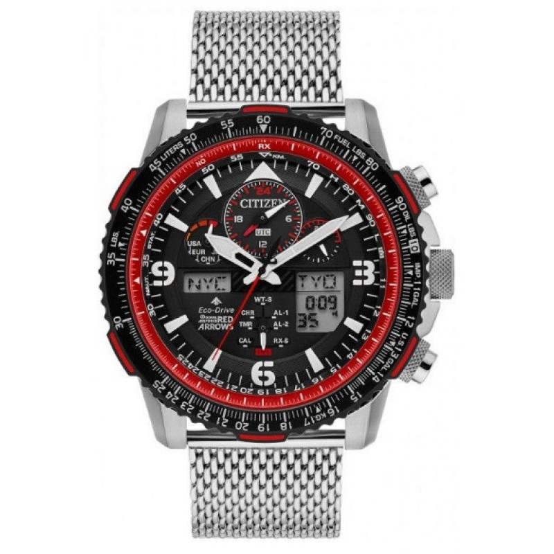 Pánské hodinky CITIZEN Skyhawk Limited Edition Red Arrows JY8079-76E ... b2131e638e