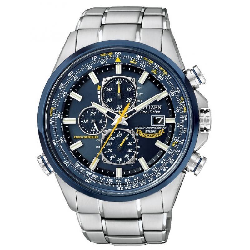 Pánské hodinky CITIZEN Radiocontrolled Blue Angels AT8020-54L ... 988d6f344d5