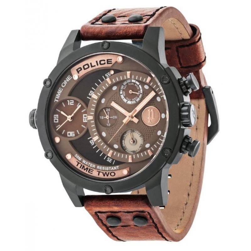 3D náhled Pánské hodinky POLICE Adder PL14536JSB 12A e6c05e20b5a