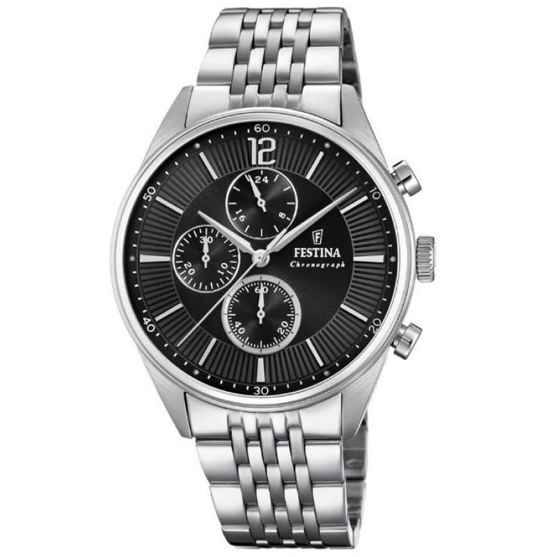 3D náhled Pánské hodinky FESTINA Timeless Chronograph 20285 4 e1a6d5ae06
