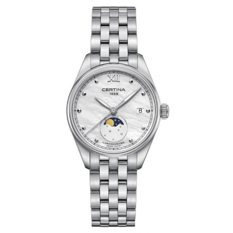 Dámské hodinky CERTINA DS-8 Moon Phase COSC Chronometr C033.257.11.118.00 485e5c14a2