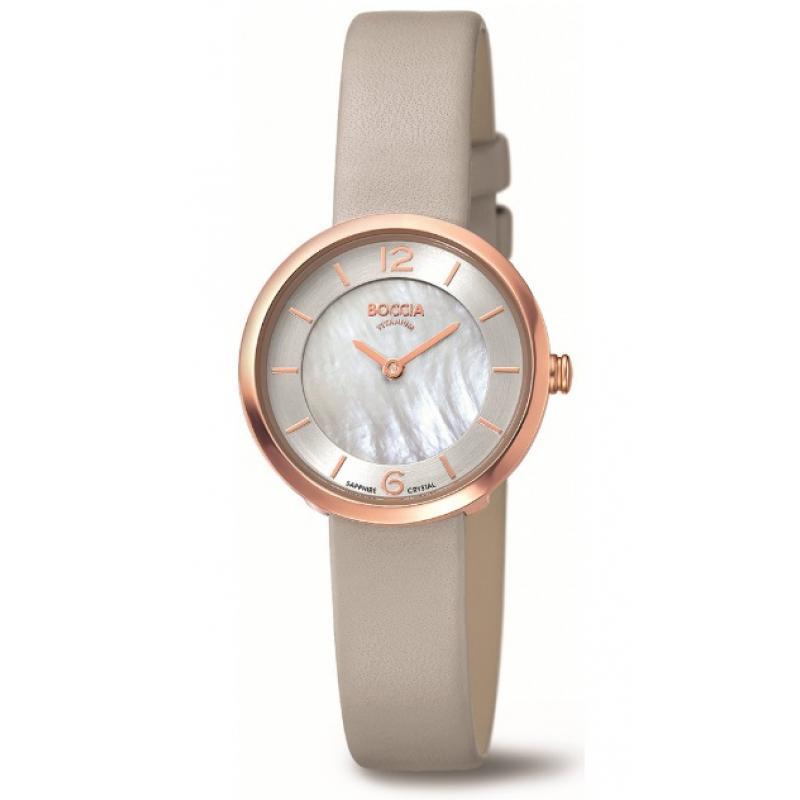 7aa31e97f58 3D náhled Dámské hodinky BOCCIA TITANIUM 3266-02