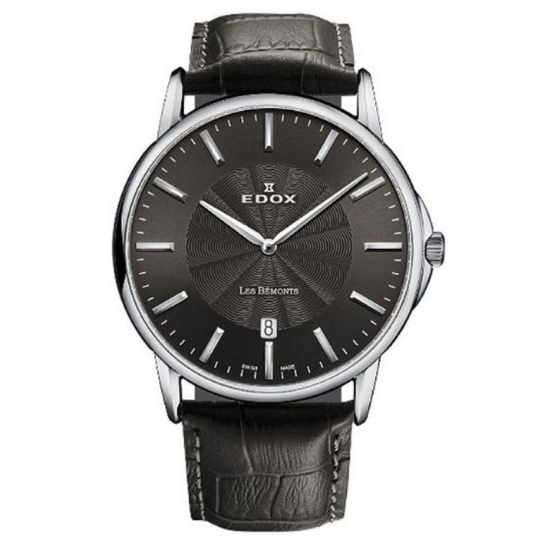 3D náhled Pánské hodinky EDOX Les Bémonts 56001 3 GIN f8d0b1ef726