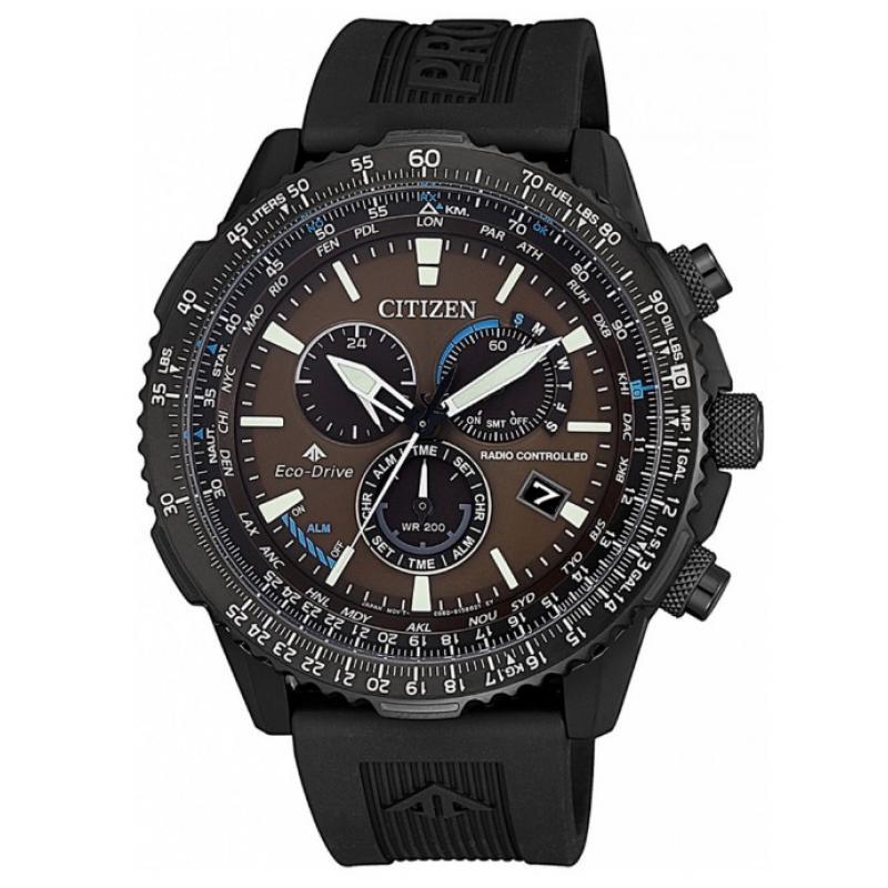 Pánské hodinky CITIZEN Promaster RC SS Radiocontrolled CB5005-13X ... e08a723d69
