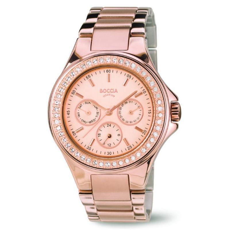 Dámské hodinky BOCCIA TITANIUM 3758-02  f5bc8289f5