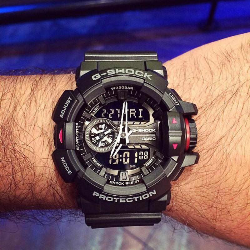 7d9617fd1 Pánské hodinky CASIO G-SHOCK GA-400-1B   Klenoty-buráň.cz